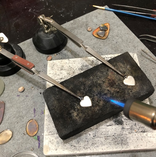 Jewelry metalsmithing